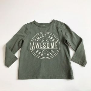 Old Navy Boys Awesome Long Sleeve Shirt Size 18-24